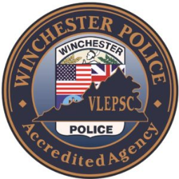 Winchester Police Accredited Agency emblem
